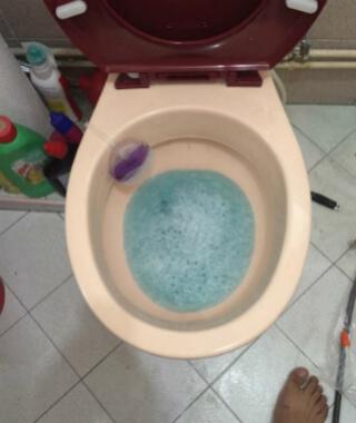 choked-toilet-bowl