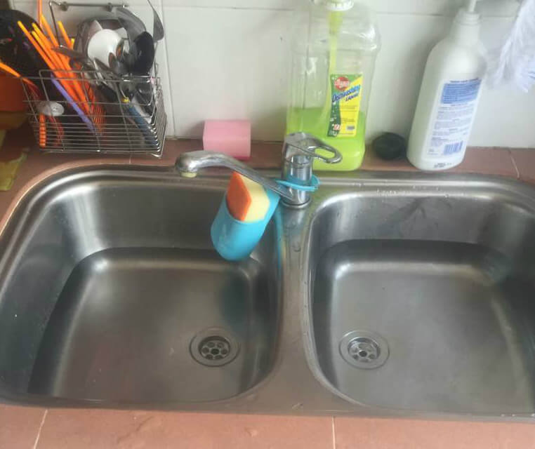 kitchen sink choked - Kitchen Sink Problem