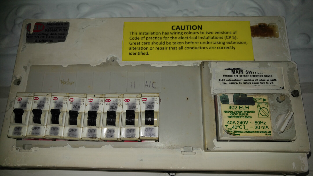 Main Circuit Breaker Singapore | Db Box, Fuse Box, MCB, RCD